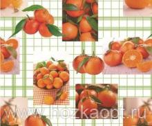 4636В-ТТ Клеенка ORCHID б/основы 1,37*20м (апельсины)