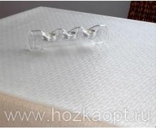 PLK253-WH Клеенка Polyline 1,4*15м Джаспер белый (Ткань с покрытием)