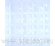 Шторы 3D (голубой) 180х180 см  1/24