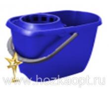 3203 Ведро МОП с отжимом прямоугольное 13л (синий) 1/14 Svip