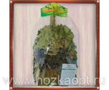 """Веник """"Лесной микс"""" в упаковке (красный дуб, донник, тысячелистник, чабрец)"""