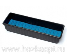 Ящик балконный 11л. с дренажной решеткой (705*155*150)
