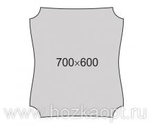 012-3 Зеркало 700*600мм