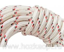 Шнур плетеный из хим.нитей d=14мм (1кг/13м) 1сорт (разрыв.нагруз.650кгс) 24-прядный