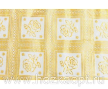 20238 Клеенка ажурн. 1,37*20м золото мод.ZT-S373А