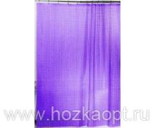 Шторы 3D (фиолетовый) 180х180 см  1/24