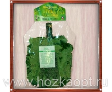 Веник Дуб кавказский Экстра с полынью в упаковке